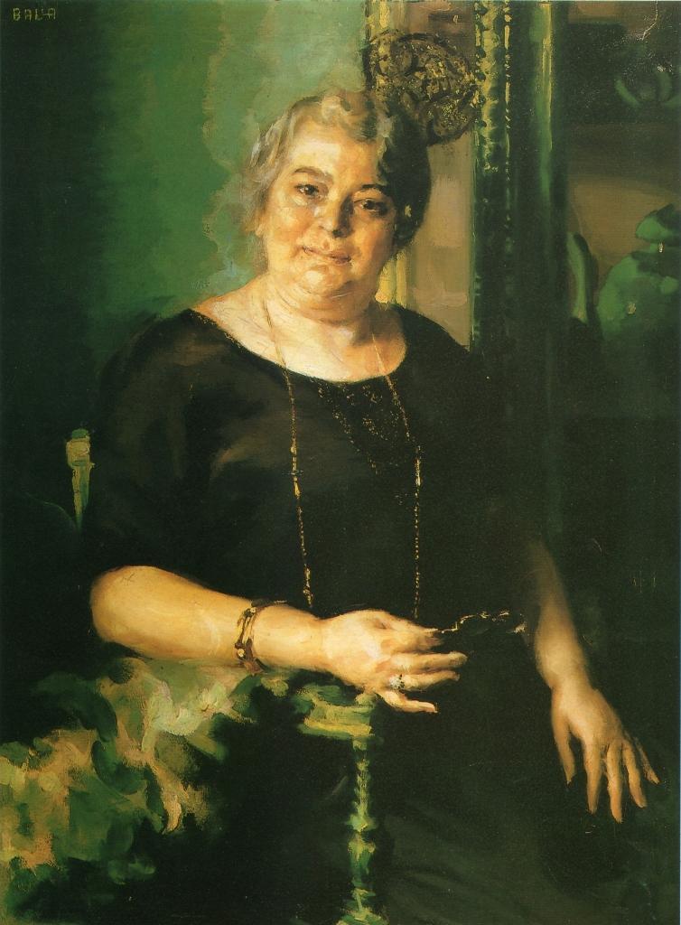 Giacomo Balla, Signora 900, 1922, Olio su tela, cm 100x81