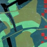 De Tomi, Senza Titolo, (1965), smalti su cartoncino, 10x20