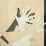 Ceroli, Mani, 1969, 60x42