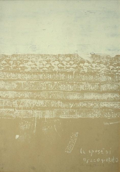 Piero Pizzi Cannella, Le spose di mezzogiorno, 2001, 101x71