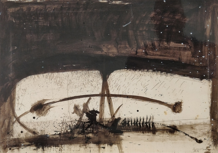 Scanavino, Gioco, 1964, 70x100