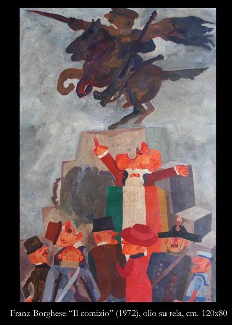 Borghese olio 120x80