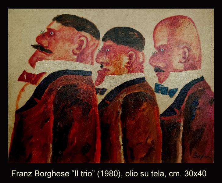 Borghese olio 30x40