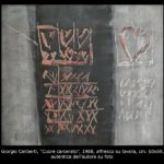 Celiberti, affresco su tavola, cm 60x69