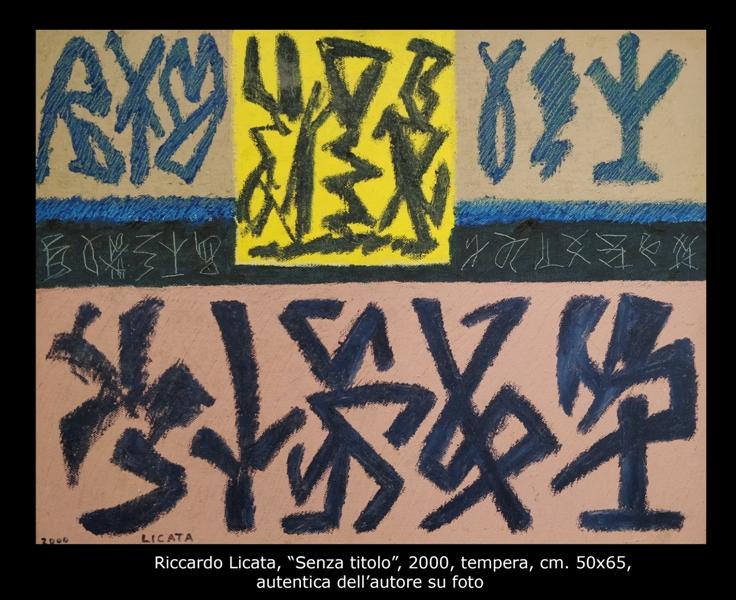 Licata, tempera, 50x65