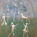 """""""Il ritorno di Ulisse"""" 1988, olio su tela, cm. 100x80"""