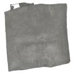 """""""Senza titolo"""" 2002, tecnica mista sutela piegata, cm. 49,5x49x8"""