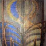 """""""La finestra di spirito"""" 2005, pittoscultura su tavola, cm.  70x50"""
