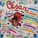 """Cesar"" (2005), acrilico su tela, cm. 25x25"