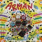 """Arman"" (2005), acrilico su tela, cm. 25x25"