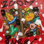 """""""Zoom Burri"""" (2005), acrilico su tela, cm. 25x25"""