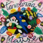 """Tavolozza Matisse"" (2005), acrilico su tela, cm. 25x25"