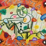 """""""Tavolozza Carrà"""" (2005), acrilico su tela, cm. 30x35"""