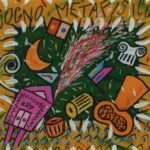 """""""Sogno metafisico"""" (2000), acrilico su tela, cm. 50x60"""