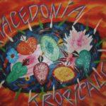 """Macedonia tropicale"" (2000), acrilico su tela, cm. 50x70"