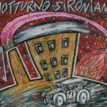"""Notturno sironiano"" (2005), olio su tela, cm. 50x60"