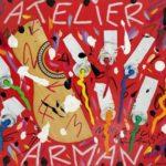 """""""Atelier Arman"""" 2017, tecnica mista su tela, 50x70"""