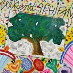 """Weekend Shifano"" 2013, tecnica mista su tela, cm. 50x70"