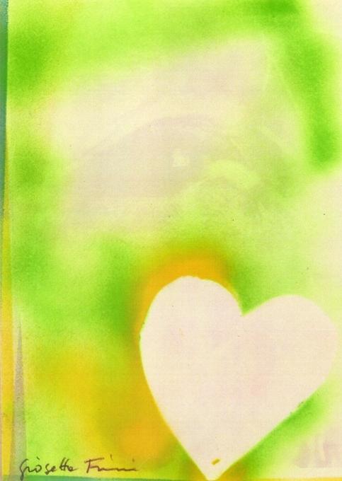 """""""Cuore"""" (2010), tecnica mista su carta, cm. 30x21"""