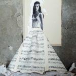 """""""Indian Queen"""" 2017, mix media, cm. 78x60"""