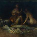 """""""Senza Titolo"""" (1980), olio su tela, cm. 80x100"""