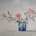 """""""Nostalgia di Liguria"""" 2000, olio su tela, cm. 45x70"""