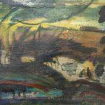 """""""Controluce"""" 1989, olio su tela, cm. 45x60"""