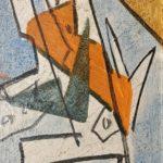 """I lirici"" 1970, olio su tela, cm. 40x30"