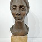 """""""Zingara"""" 1951, bronzo, h. cm. 35"""