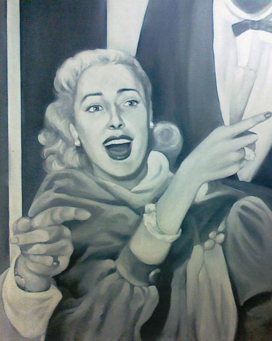 """""""Starlette"""" 2006, olio su tela, cm. 100x80"""