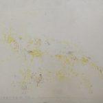"""""""Senza titolo"""" 1964, tecnica mista su carta intelata, cm. 25x35"""