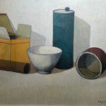 """""""Natura morta"""" (1980), olio su tela, cm. 40x50"""