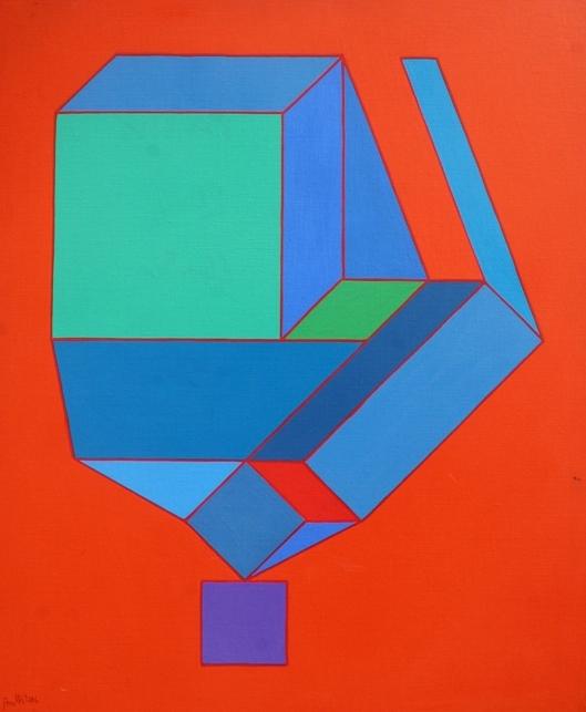 """Il butirro"" 2006, olio su tela, cm. 65x54"