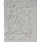 """""""Senza titolo"""" 2016, silicone su tela, cm. 24x18"""