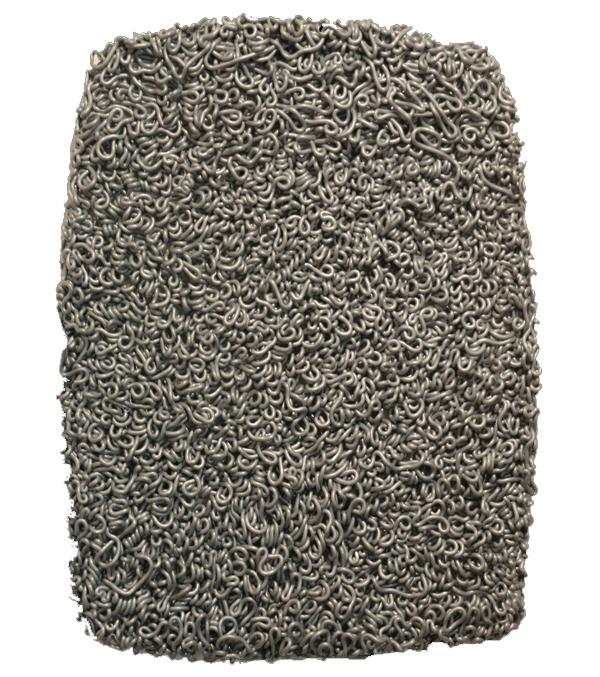 """""""Senza titolo"""" 2015, silicone su tela, cm. 41x32"""
