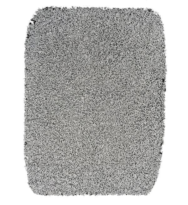 """Asimmetrica"" 2005, silicone su tavola, cm. 80x60"