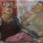 """""""La nube di Io"""" (2010), olio su tela, cm. 30x40"""