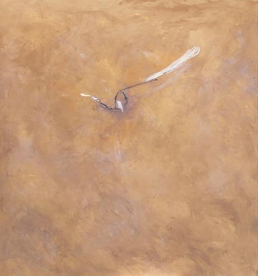 """Libellula"" 2002, acrilico su tela, cm. 140x130"