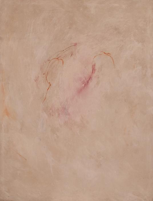 """Sospeso"" 2014, olio su tela, cm. 150x114"