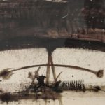 """""""Gioco"""" 1958, tecnica mista su cartone, cm. 70x100"""