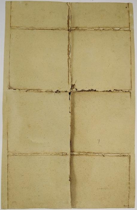 """""""Senza titolo"""" 1975,compressione di cartoni, cm. 100x63"""
