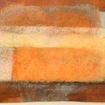"""""""Composizione"""" 1998, olio su rame, cm. 40x60"""