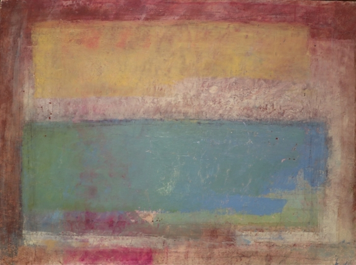 """""""Senza titolo"""" 1995, olio su carta intelata, cm. 30x40"""