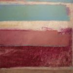 """""""Senza titolo"""" 1994, olio su carta intelata, cm. 40x50"""