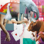 EVERYBODY PLAY THE GAME, olio su tela, cm. 120x100