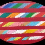 """""""Valli VII"""" 1997, olio su tela, cm 20x30"""